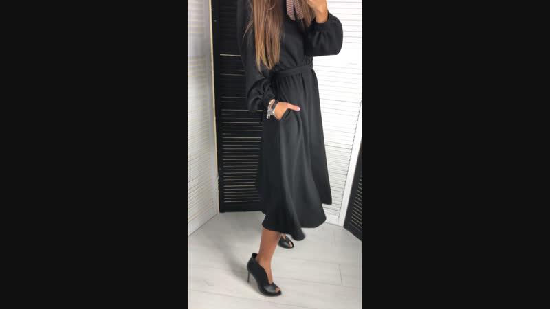 Чёрное платье 🖤