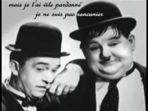Laurel Hardy la chanson originale