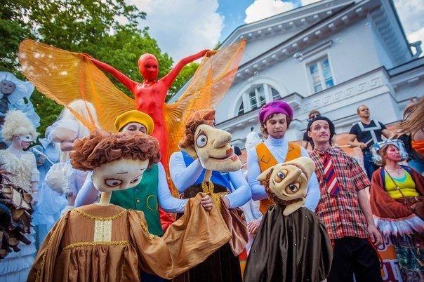 29 мая – 31 мая - V Международный фестиваль уличных театров в Петербурге ODyu1n5ZjZU