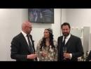 Михаил Петренко, Анна Нетребко и Ильдар Абдразаков поздравляют с открытием Московского концертного зала Зарядье