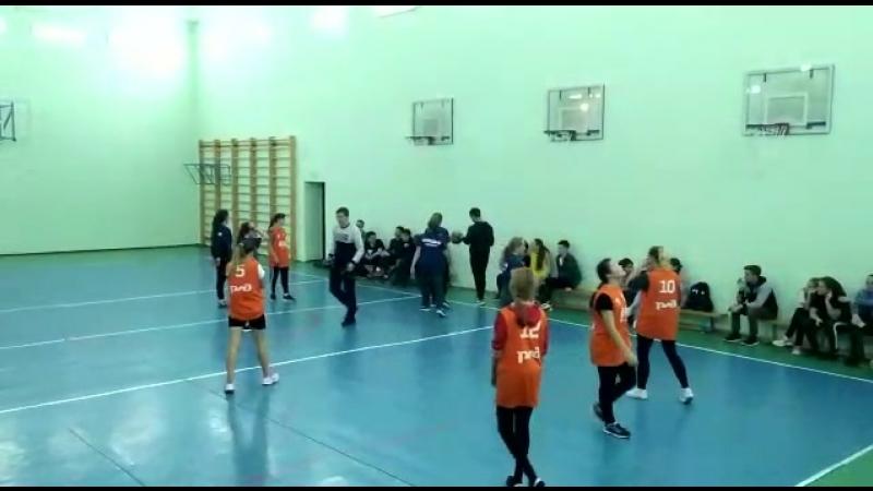 13.10.18. Соревнования по баскетболу. СОШ1 vs СОШ3