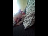 скрытая камера как моя сестра спит я от нее снимаю она не узнает
