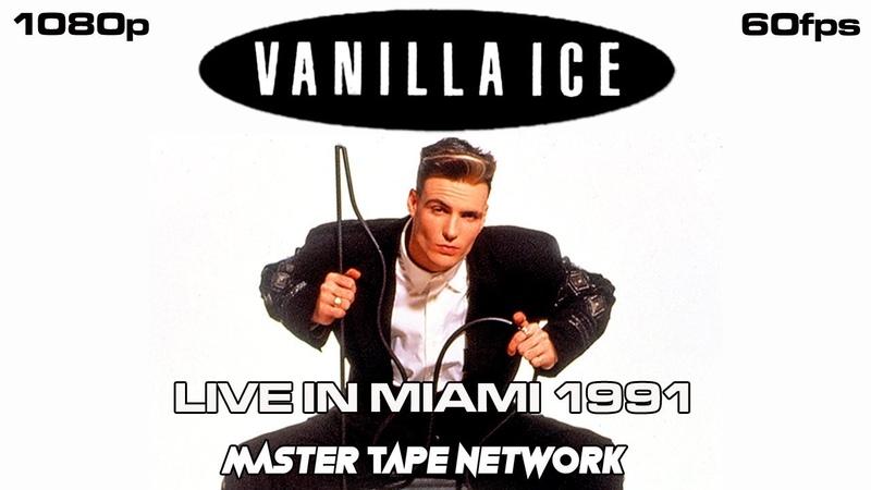 Vanilla Ice Live in Miami FL 1991 Master Tape Theater Remaster 1080p 60fps