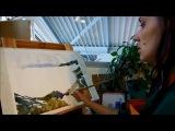 Презентация-трейлер Мастер класс Акварель пейзаж Крым