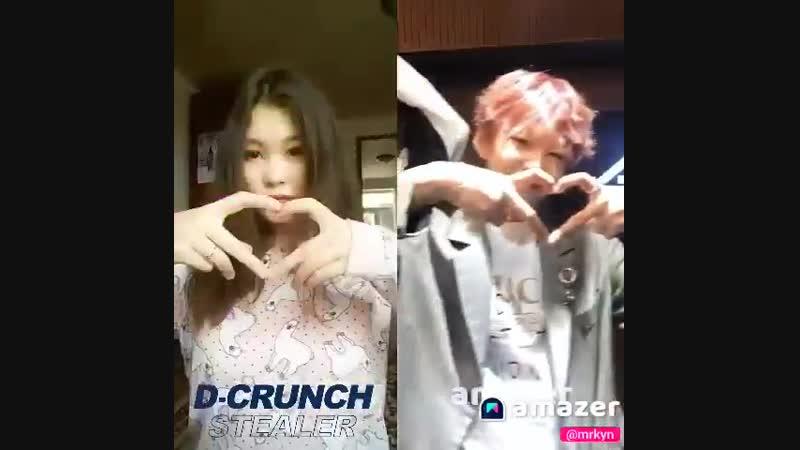 Make Hearts' battle with D_crunch - 디크런치와 하트대결하고 사인cd받자 - @DIA_CRUNCH - - dcrunchchallenge dcrunch stealer 디크런치 스틸러 현욱 현호 OV 현우