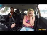 FakeDrivingSchool - Victoria Summers - Instructor seduced by busty blonde New Porn 2018