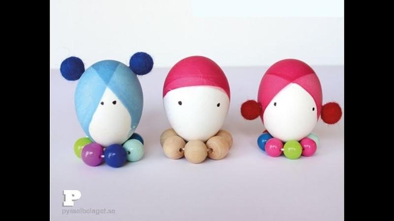 Необычные способы покраски яиц на Пасху