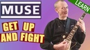 Muse - Get Up And Fight Guitar Lesson - Full tutorial