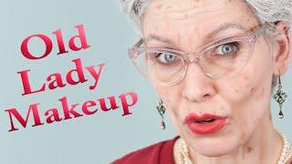 OLD LADY MAKEUP   Aging Special Effects - Efectos especiales de envejecimiento (subtítulos)