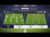 Live! FIFA 18. Финал Лиги Европы. Марсель — Атлетико
