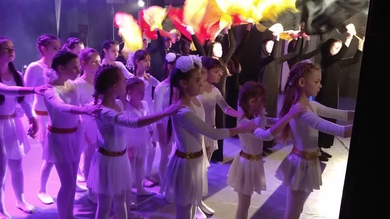 Ангелы войны театр танца Мистерия дети