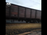 Убрать Ниву с путей в Омске помог поезд