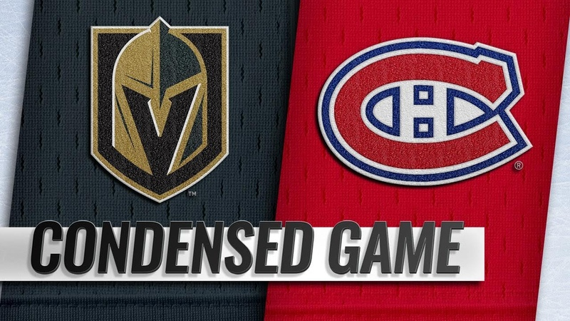 111018 Condensed Game Golden Knights @ Canadiens