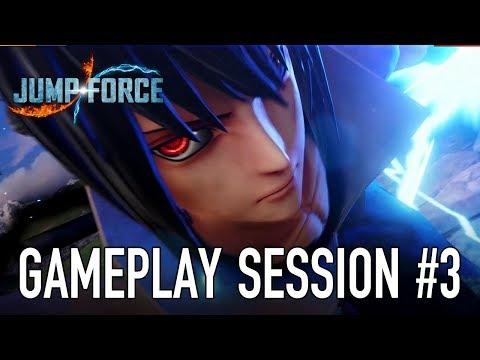 JUMP Force - PS4/XB1/PC - Gameplay Session 3 (Sasuke VS Zoro)