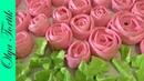 РОЗЫ ИЗ БЕЗЕ Меренга Как сделать розу из крема МК Olya Tortik Домашний Кондитер