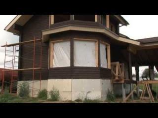 Проекты домов из бруса.Дом Комфорт часть2.МОГУТА
