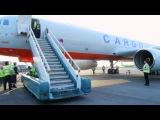Первый грузовой самолет «Трансаэро»