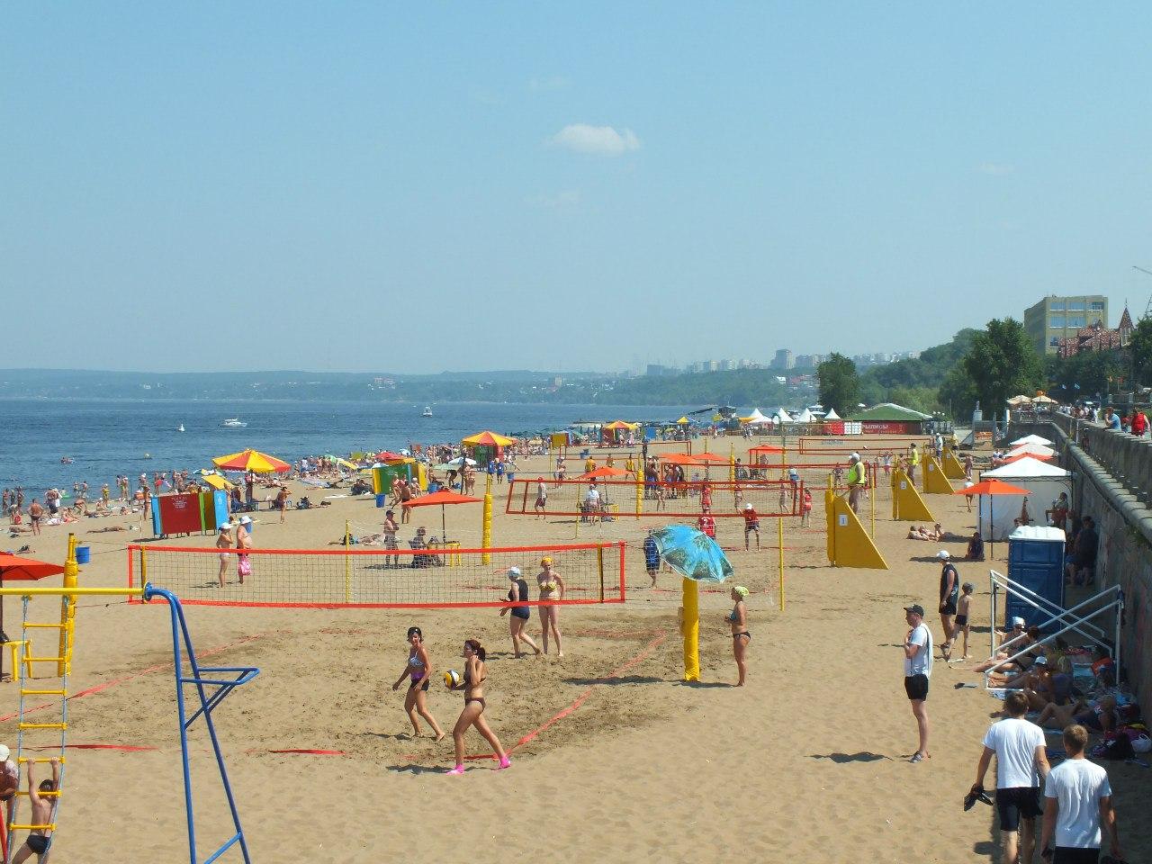 Фото с пляжа челны