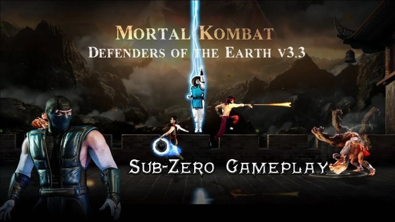Mortal Kombat Defender Earth v3.3 - Classic Sub-Zero Gameplay