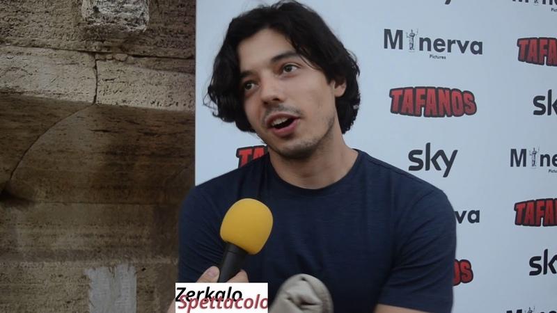 Guglielmo Poggi nel film Sky Tafanos