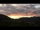 Закат в Вилькабамба. Эквадор