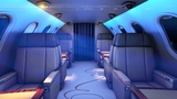 Private Jet Sound White Noise Sleep or Study with Airplane Ambience 10 Hours