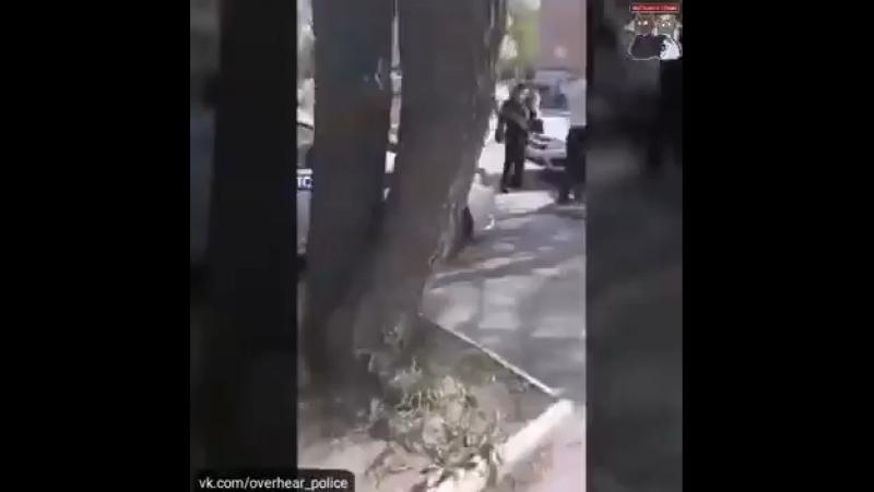 В Челябинске шизик напал с трубой на скорую помощь и его подстрелили полицейские