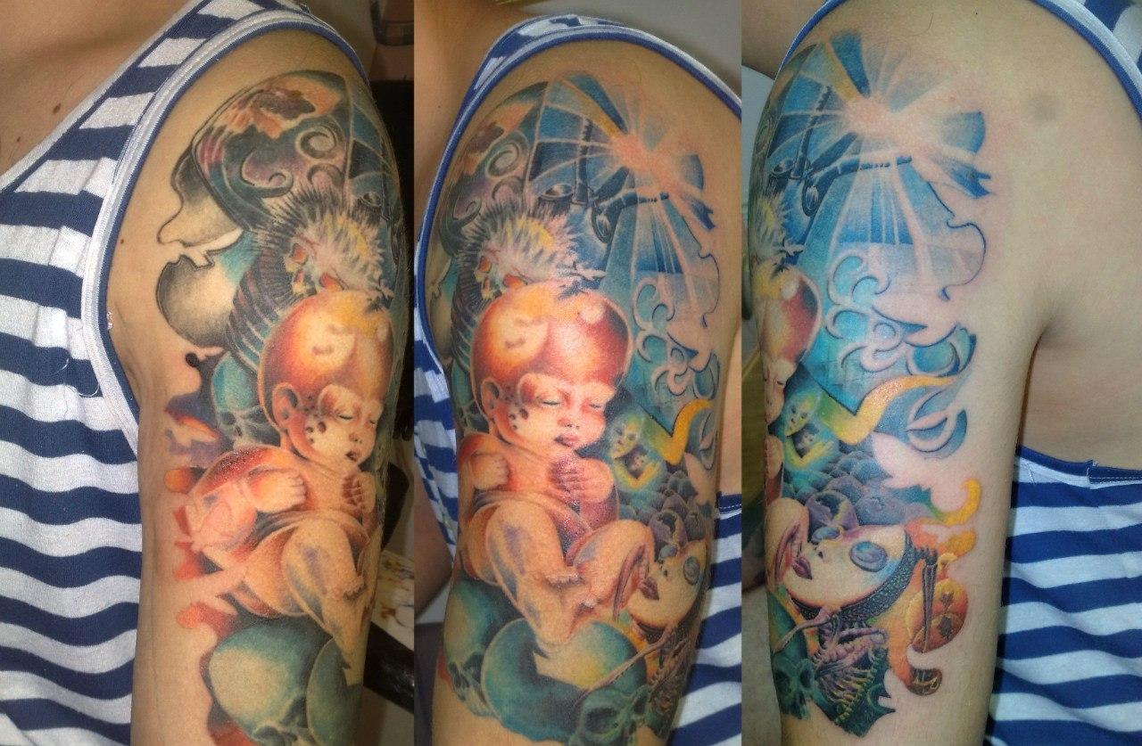 Татуировки в днепропетровске фото
