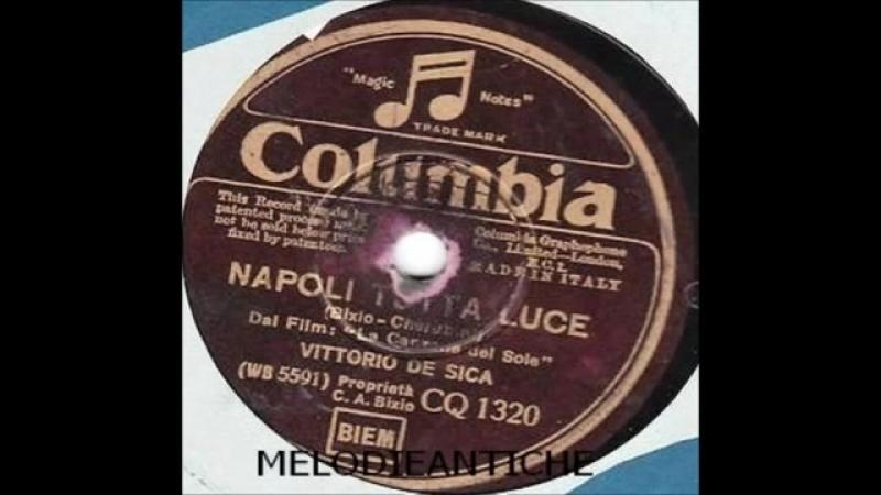 Vittorio De Sica - Napoli tutta luce (con testo)