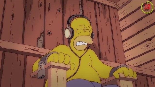 Симпсоны - лучшие моменты. Дни рождения!! Выпуск №31