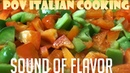 Sound of Flavor - Green and Red Bell Peppers