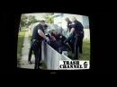 Драка полиция vs голый нигер