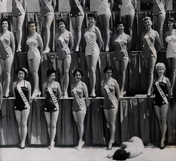 На конкурсе Мисс Вселенная в 1954 году, произошёл один казус, который показал всю сущность конкурсов красоты.