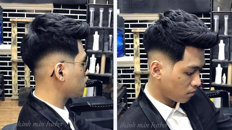Kiểu tóc đẹp nhất 2018 / hướng dẫn cắt tóc nam chi tiết / low fade short quiff / Thành Mán Barber