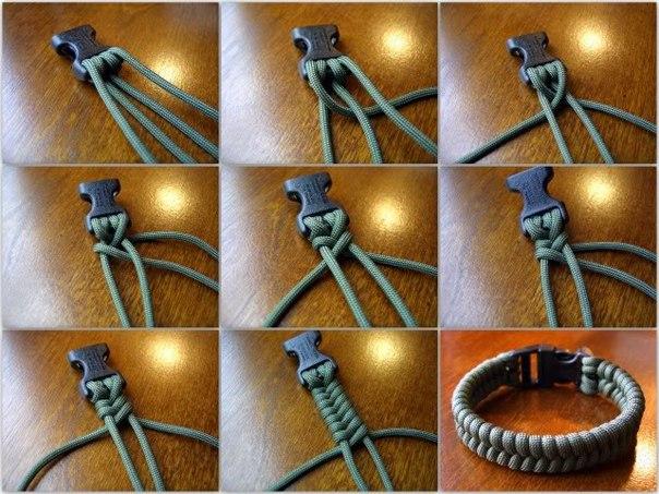 Плетение браслета выживальщика