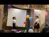 танец племянницы!)))