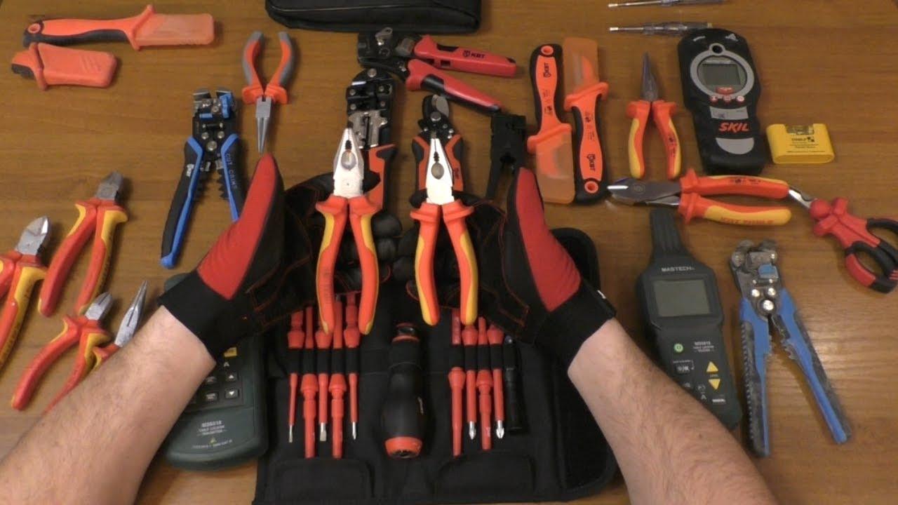 9 основных инструментов, необходимых каждому электрику