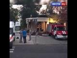 Появилось видео с места убийства Захарченко!