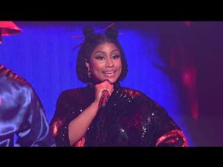 19 мая Nicki Minaj_ Chun-Li (Live) -  телешоу Saturday Night Live, Нью-Йорк, США.