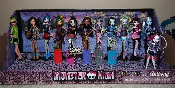 Monster High/ролевая (по 3 мостряшки!!!) | ВКонтакте