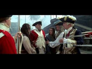 Пираты Карибского моря: Проклятие «Чёрной жемчужины» (2003г., Гор Вербински, приключение, фэнтези, боевик)