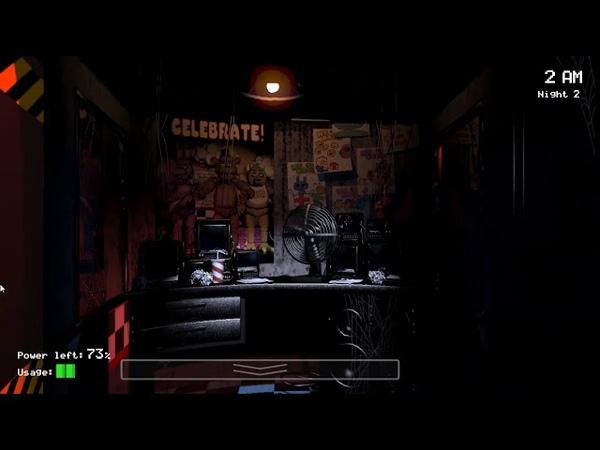 8Bit: Five Nights at Freddy's [2 Ночь] [Прохождение]