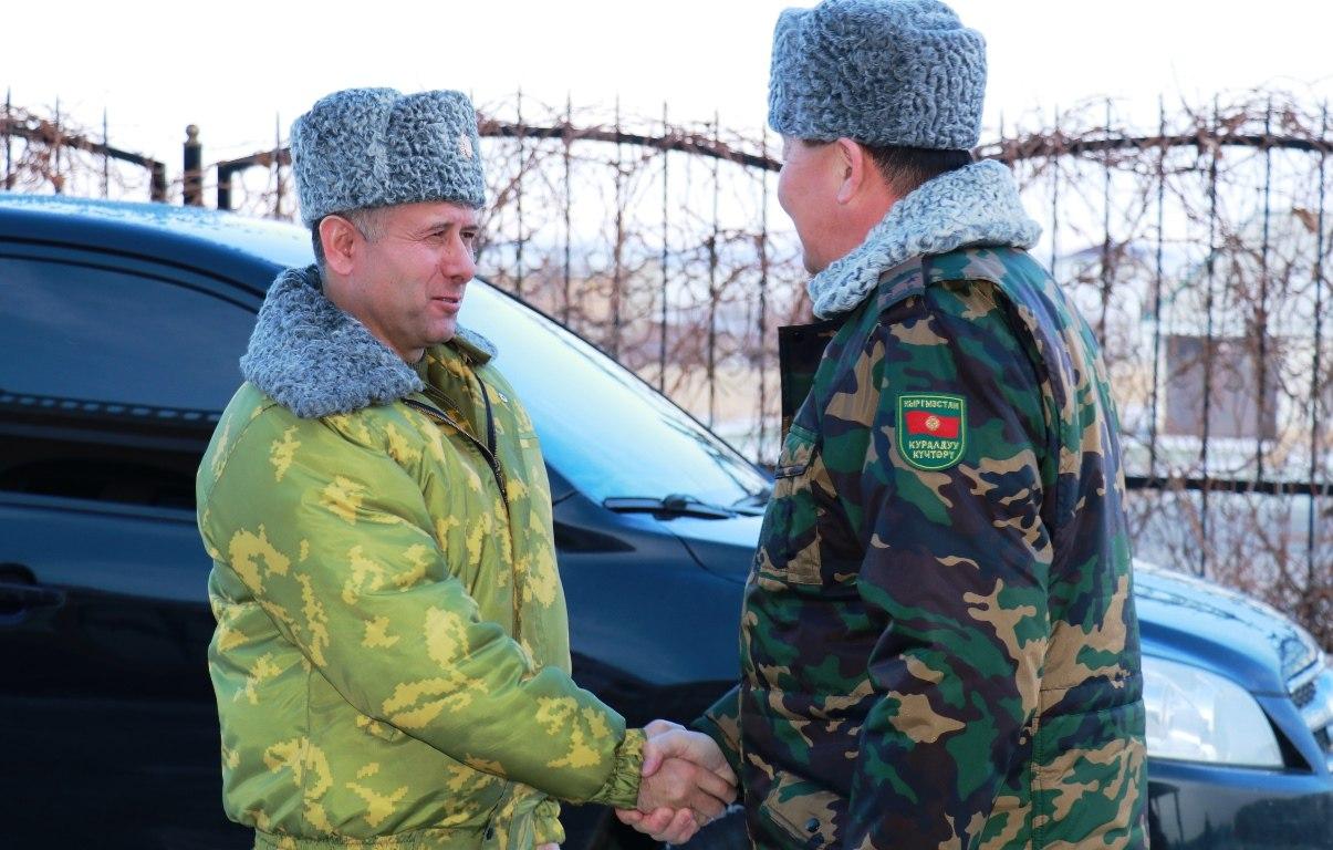 Главы погранвойск Таджикистана и Кыргызстана обсудили ситуацию на совместной границе
