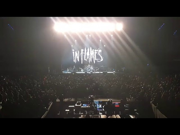 In Flames en la Arena Ciudad de México