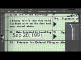 Proof that Obama's birth certificate is a forgery - an impeachable felony