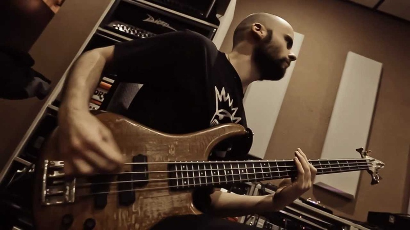 SYBREED God Is An Automaton Studio Report 2012 part 3 Bass
