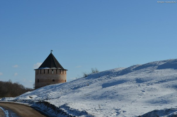 Алексеевская башня Окольного города