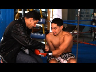 Father & Son - Boxing Champ Danny Garcia and His Father Angel Garcia - SHOWTIME