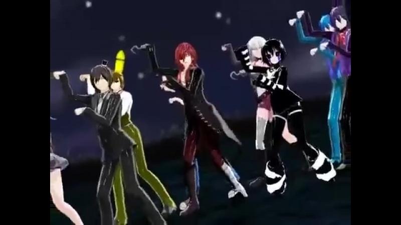 Фнаф танец аниме