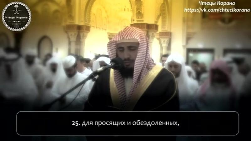 Али Солях Умар Сура 70 аль Мааридж